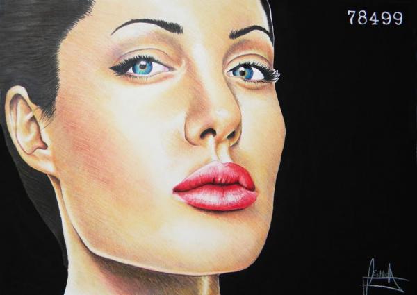 Angelina Jolie par Estherproductos
